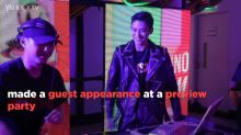 NCT Lucas makes appearance at launch of H&M, Moschino collection