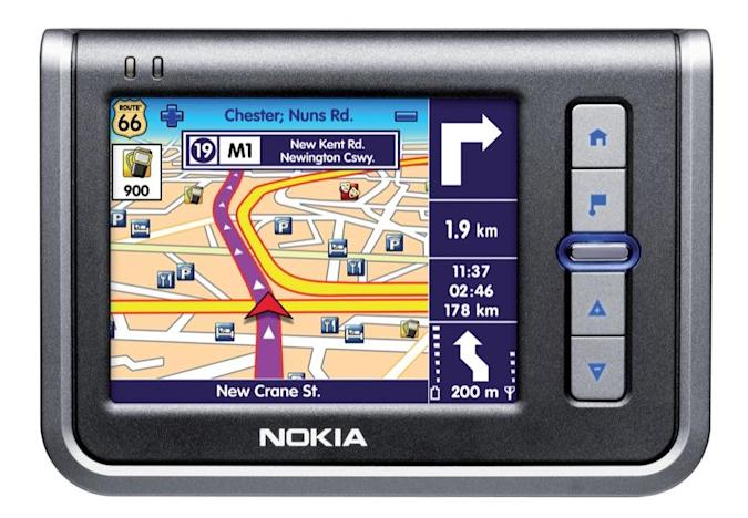 Nokia's 330 Auto Navigation: their first dedicated GPS device