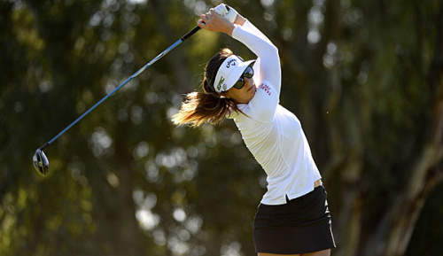 Golf: Sandra Gal muss um Cut bangen