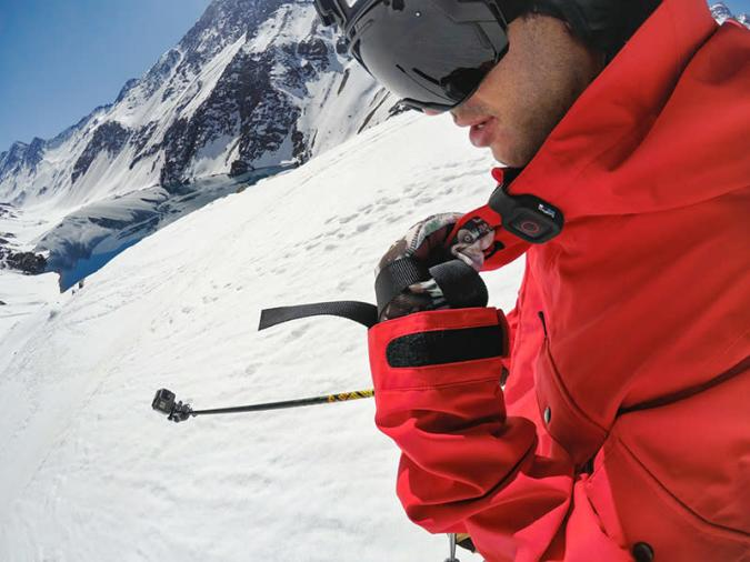 GoPro has a voice-controlled remote for its voice-controlled cameras