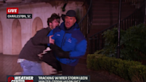 Weather Channel Reporter Knees Videobomber in Groin