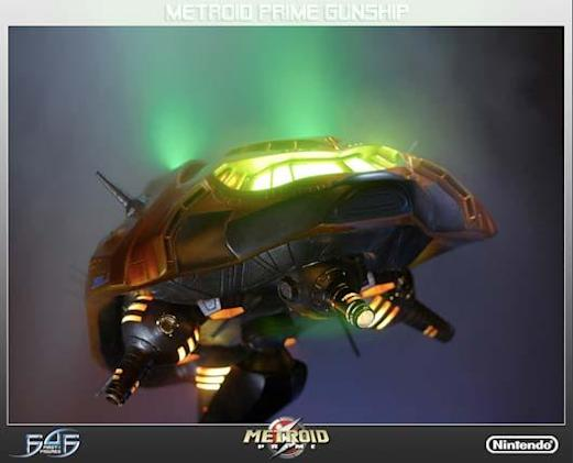 Metroid Prime model gunship boasts 'unprecedented levels of realism and accuracy'