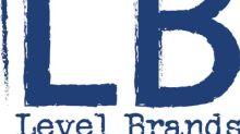Level Brands Announces Closing of $12 Million Initial Public Offering