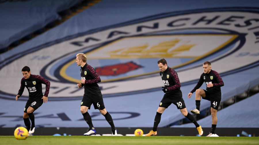 Watch live: Burnley visits Manchester City