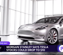 Morgan Stanley cuts worst-case price for Tesla to $10
