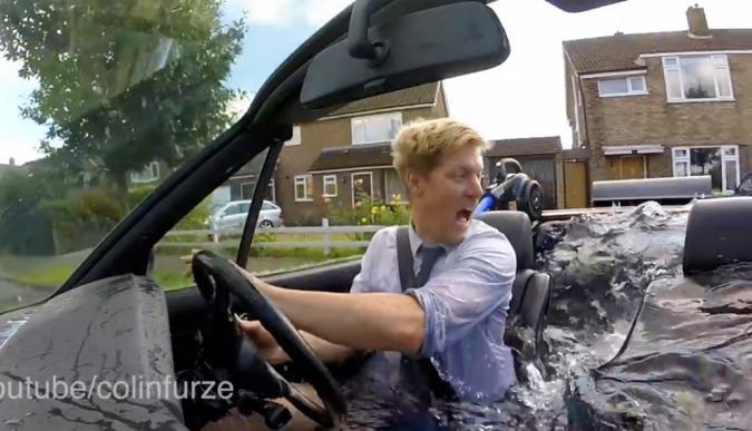 Spa Car: Dieses Kabriolett ist eine fahrende Badewanne