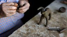 El barro, el protagonista en la tradición de los pesebres en México