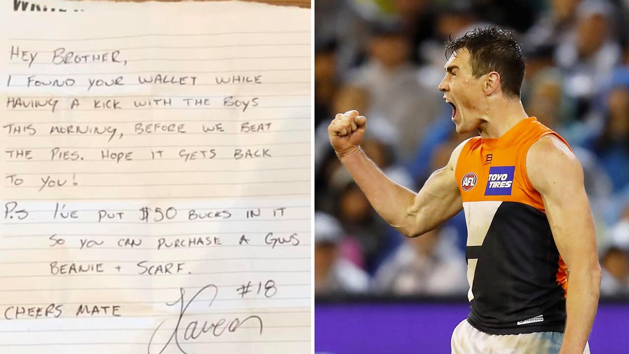 'What a legend': AFL star's superb gesture for stranger goes viral