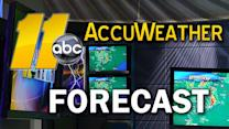The latest Accu-Weather forecast