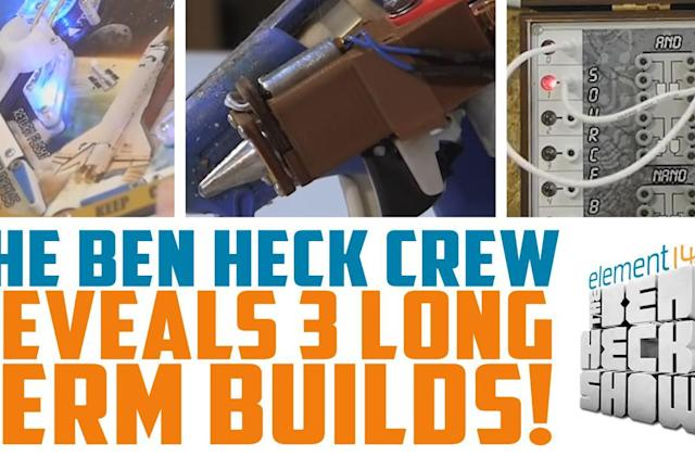 Ben Heck's next three builds are meant to be shipping products