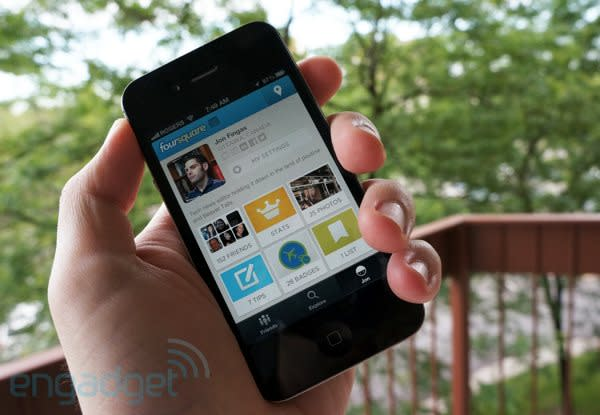 Foursquare 5.0 hands-on