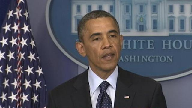 President Obama Says Marathon Explosion a 'Senseless Loss'