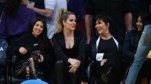 Las Kardashian se van a ver un partido de la NBA