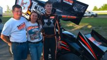 Sprint car driver killed in collision during race
