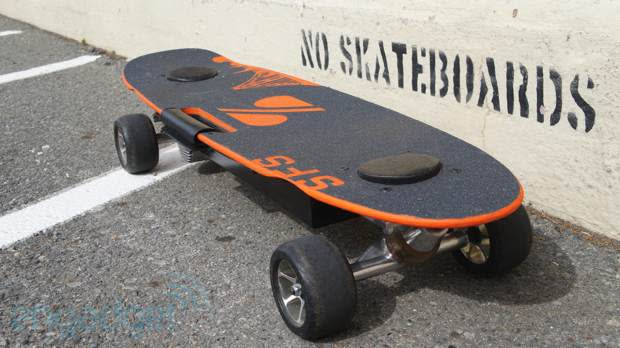 ZBoard rolls out the San Francisco Special for the hilly city by the bay (video)