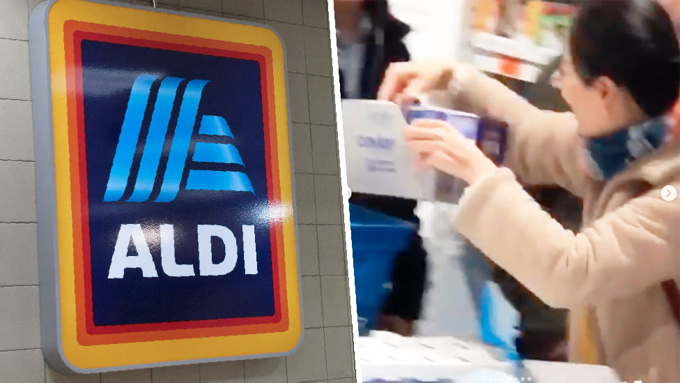 'I won't ever go back': Shoppers slam Aldi policy after sale chaos