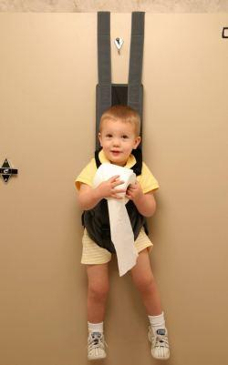 The Babykeeper: toilet training with visual aids