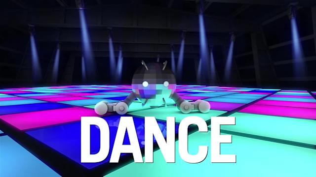 Tomy's Dancy Beatz is a dancing disco ball you can choreograph