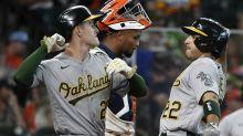 Laureano's 2-run shot gives Athletics 7-3 win over Astros