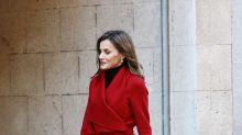 La reina Letizia causa furor con estas botas navideñas de colección