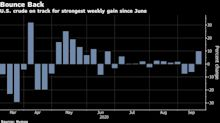 Oil Set for Best Week Since June With Saudis Defending Recovery