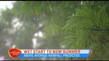 Wet start to NSW summer
