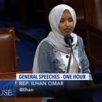 Ilhan Omar condemns 'religious fundamentalists' over anti-abortion laws in speech to Congress