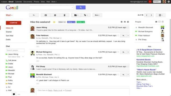 Google spills the beans on Gmail revamp a bit early (video)