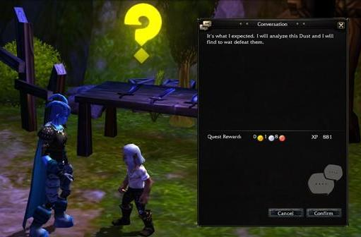 Mythos quest system detailed