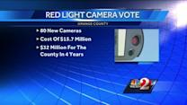 Orange Co. commission votes to add 80 red-light cameras