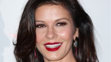 Catherine Zeta-Jones Owned The Red Carpet In A Stunning Strapless Jumpsuit