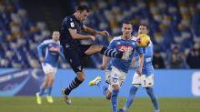 La Lazio, eliminada de la Copa por el Napoli