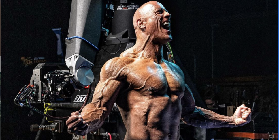 The Rock Shared One More Look at His Terrifyingly Shredded 'Black Adam' Physique