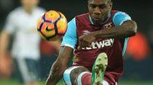 Foot - ANG - West Ham - Angleterre: Michail Antonio (WestHam) punit Norwich et inscrit son premier quadruplé