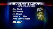 Real Deal: Family bowling day