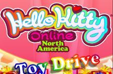 Hello Kitty Online joins the Toys for Tots charity drive