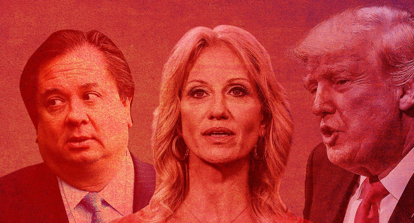 Kellyanne Conway says Trump is 'protective of me' in feud with her husband