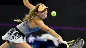 Wozniacki announces her retirement date