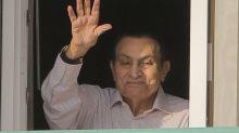 Ousted Egyptian dictator Hosni Mubarak