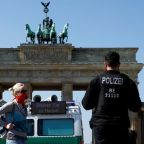 Germany reports third straight drop in daily rate of new coronavirus infections