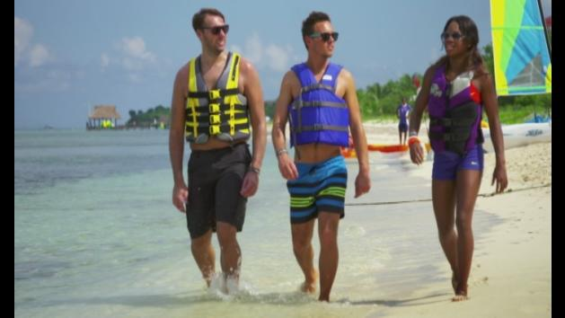 In the Caribbean with Tom Daley...