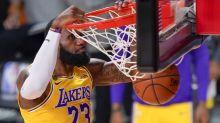 LeBron James delivers blow, message to Tyler Herro en route to fast-break dunk