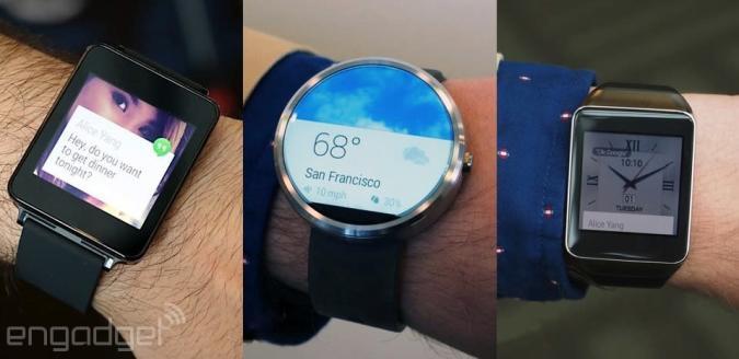 Weniger als ein Viertel der Andoid-Handys funktioniert mit den neuen Smartwatches