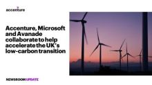 Accenture and Microsoft Collaborate to Help Accelerate U.K.'s Transition to Net-Zero Carbon Emissions
