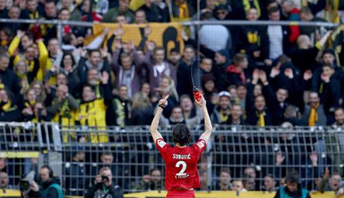 Bundesliga: Subotic bei Dortmund-Rückkehr gefeiert