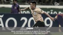 Confira a seleção dos estrangeiros que não vingaram no Santos