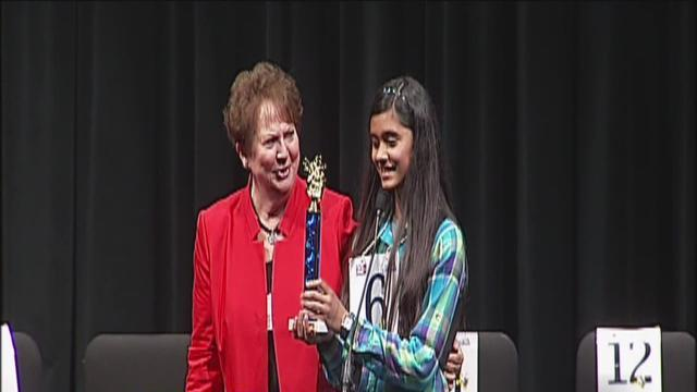 Spelling bee champion gets ready for D.C.