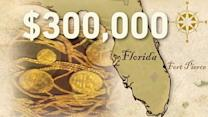 Family finds $300,000 in Gold Coins Off the Coast of Pierce, Fla.