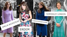 The London Fashion Week labels the Duchess of Cambridge supports