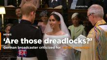 """Una cadena alemana se convierte en blanco de críticas por su """"cobertura racista"""" de la boda real"""